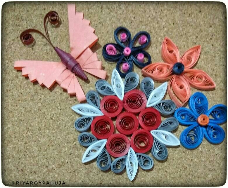 Quilled flowers from my crafts corner riyas own space quilling is a form of art made with paper strips usually rolling them and giving different shapes i love quilling and i am sharing one such art today mightylinksfo