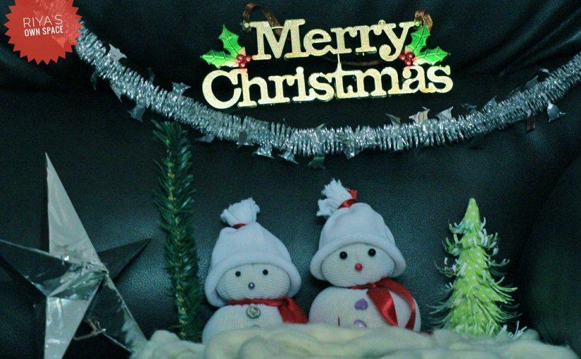 Mini snowman DIY/Christmas decor ~ From my craft'scorner