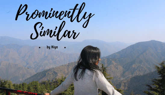 Prominently Similar- Poetry